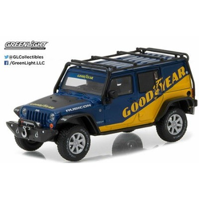 1/43 2016 Jeep Wrangler Unlimited - Goodyear with Roof Rack, Fender Flares and Winch[グリーンライト]《発売済...