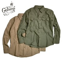 GOHEMP(ゴーヘンプ)PEACE FULL SHIRTS / H/C BACK SATIN SULFIDE DYE / トップス / シャツ