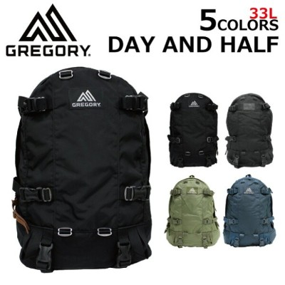 GREGORY グレゴリー DAY AND A HALF PACK デイアンドハーフパックリュック リュックサック バックパック メンズ レディース A3 33Lプレゼント ギフト 通勤 通学...