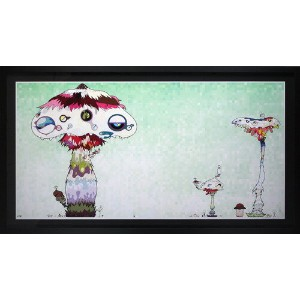 "【送料無料/絵画・版画】【中古】村上隆(Takashi Murakami) Hypha will cover the world little by little. ""We should be..."