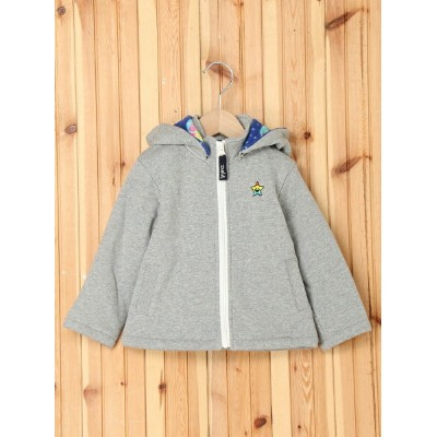 【SALE/50%OFF】X-girl Stages HOODED ZIP UP JUMPER GALAXY 90cm エックスガールステージス コート/ジャケット【RBA_S】【RBA_E】...