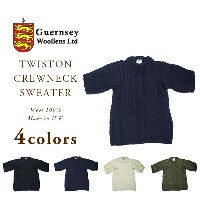 GUERNSEY WOOLLENS(ガンジーウーレンズ)/TWISTON CREWNECK SWEATER