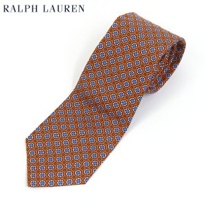 POLO by Ralph Lauren Silk Necktie (ORANGE) US ポロ ラルフローレン シルク ネクタイ ペイズリー