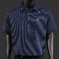 スコッティーキャメロン ポロシャツ Scotty Cameron「Subconscious Stripe - 7 Point Crown - Patriot Navy」Polo ポロ