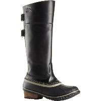 ソレル Sorel レディース スノー シューズ・靴【Slimpack Riding Tall II Boot】Black/Kettle