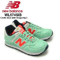 【送料無料】ニュー バランス(New Balance) WL574/574 Summer Waves ランニング スニーカー ≪WL574SIB/Artic Blue with Dragonfly...