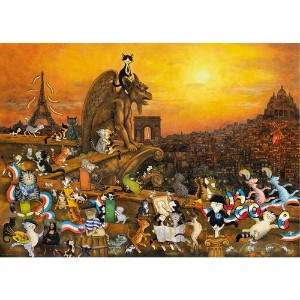 HEYE Puzzle・ヘイパズル 29750 Sven Hartmann : Cats in Paris 1000ピース