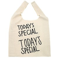 TODAY'S SPECIAL Marche Bag マルシエバッグ(大)(TODAY'S SPECIALお店のラッピング袋付き)