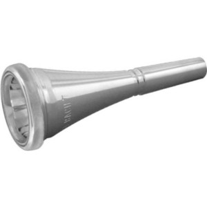 Bach バック フレンチホルン マウスピース French Horn Mouthpiece Silver (7  リム直径17.25mm)