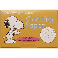 SNOOPY with Music  スヌーピー クリーニングペーパー