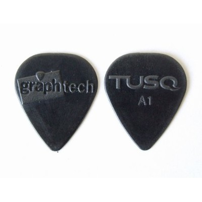 GRAPH TECH A1 0.68mm PQP-0068-B36 ×12枚 TUSQ PICK Black ピック