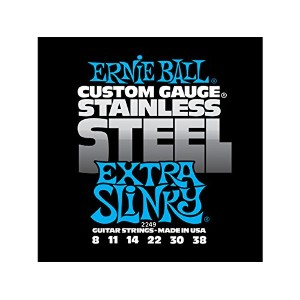 ERNIE BALL #2249×6SET☆EXTRA SLINKY Stainless アーニーボールエレキギター弦