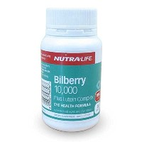 Bilberry 10,000 + Lutein Complex 30 Tablets / ビルベリー 10000 30タブレット [並行輸入品]