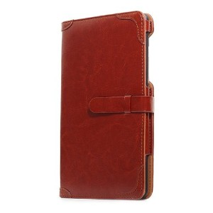 Bluevision ネクサス7ケース Impress for Nexus 7 (2013) Folio Case Bordeaux Red レッド BV-IMP-N7-BRD