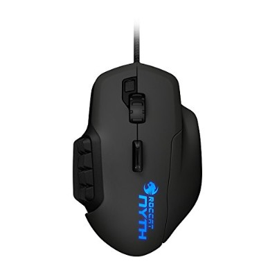 ROCCAT Nyth - MMO Gaming Mouse(Black) 正規保証品 ROC-11-900-AS ロキャット