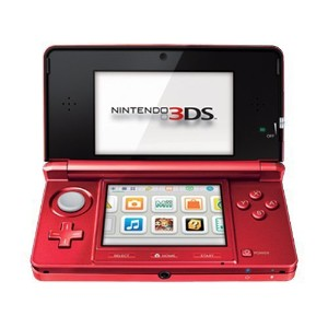 Nintendo 3DS Flame Red - ニンテンドー 3DS フレーム レッド (海外輸入北米本体)