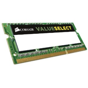 CORSAIR Memory Module DDR3 ノート VALUE SELECT Series 4GB×1kit CMSO4GX3M1C1333C9