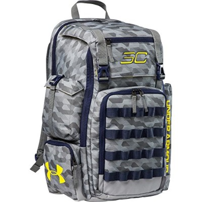 UNDER ARMOUR CURRY SC30 BACKPACK (アンダーアーマー カリー リュックサック)4色/4Colors (StealthGray /MidnightNavy/Taxi) ...