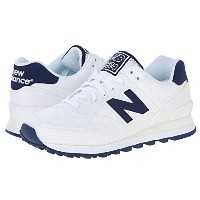 (ニューバランス) New Balance 靴・シューズ New Balance Classics WL574 - Pique Polo Collection White/Textile US 7...