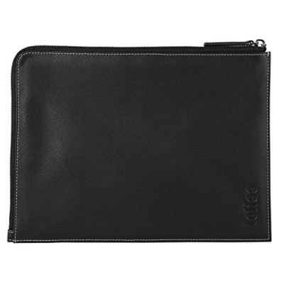 toffee トフィ― iPad Mini 3/4 対応 本革製 スリーブケース ブラック Leather Corner Sleeve - iPad Mini 3/4 TCS-IPM-B