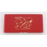 Teeda SNOOPY BAND COLLECTION スヌーピー×リードケース B♭クラリネット用 レッド 10枚収納 SCL-10R