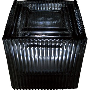 HOUSE USE PRODUCTS(ハウスユーズプロダクツ) LED グラスライト LED SQUARE GLASS LIGHT Suff BLACK [正規代理店品]