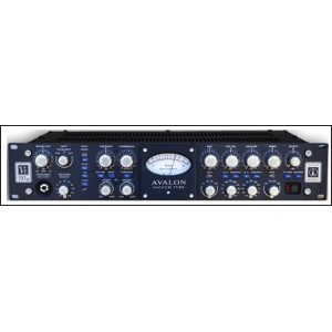 Avalon Design VT-737 SP Black Panel (VT737) Mic Tube Preamp Opto Compressor Equalizer RECORDING...
