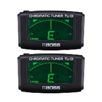 【2個セット】BOSS ボス TU-01 Clip-on Chromatic Tuner