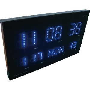 HOUSE USE PRODUCTS(ハウスユーズプロダクツ) LED表示 電波掛け時計 LED RADIO CLOCK WEED ACL071 [正規代理店品]
