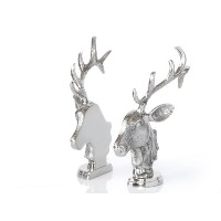 鹿のオブジェ Deer Silver Ornament