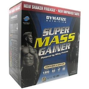 Super Mass Gainer, Cookies and Cream, 12 lb, From Dymatize by Dymatize [並行輸入品]