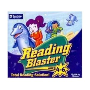 Reading Blaster AGES 4-6 Total Reading Solution!