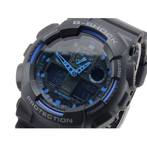G-Shock Gショック Ana-Digi Speed Indicator Black Dial Men's watch #GA100-1A2 男性用 メンズ 腕時計 (並行輸入)