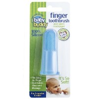 Baby Buddy Silicone Finger Toothbrush, Blue by Baby Buddy [並行輸入品]