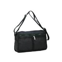 (レスポートサック) LeSportsac DELUXE SHOULDER SATCHEL 7519 5922 BLACK 並行輸入品
