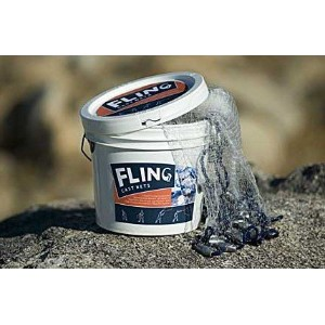 Adventure Products 31203 Fling Cast 6 Foot Net - 0.03125 Inch Mesh