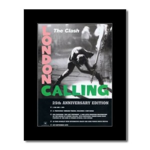The Clash - London Calling 25th Anniversary Mini Poster - 28.5x21cm