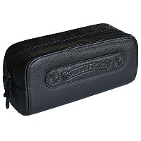 CHROME HEARTS LEATHER POUCH CH PLUS LARGE クロムハーツ レザーポーチ/小物入れ ラージ