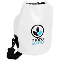 MANA SURF CO(マナ サーフ) WATER PROOF BAG WHITE M39