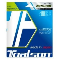 TOALSON(トアルソン)  テニスストリング  HD ASTER POLY 130  ブルー  硬式ガット  7473010B