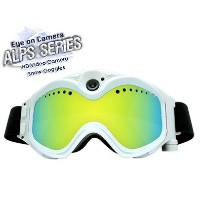 Eye on Camera ALPS SERIES HD 720p Snow Goggles Video Camera