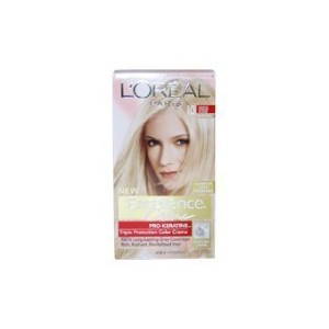 Excellence Creme Pro - Keratine 10 Light Ultimate Blonde - Natural by L'Oreal - 1 Application Hair...