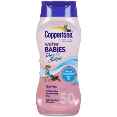 Coppertone SPF# 50 Waterbabies Pure & Simple Lotion 8 oz. by Coppertone [並行輸入品]