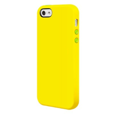SwitchEasy iPhone 5用シリコンケース Colors for iPhone 5 Lime ライム SW-COL5-L