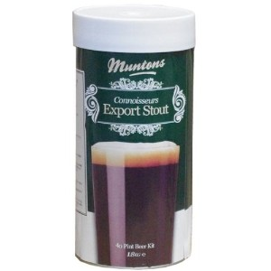 Muntons Connoisseurs Export Stout スタウト 1800g