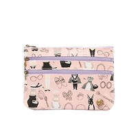 spia ポーチ 3-zip pouch ANIMALS FSP-0217AN [正規代理店品]