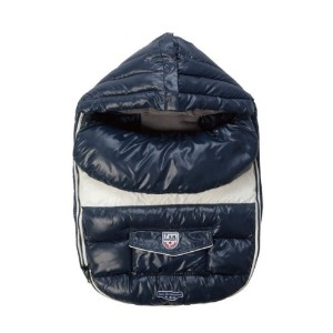 7A.M. ENFANT Baby Shield ベビーカーフットマフ Midnight Blue 6-18M
