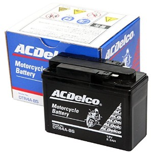 ACDelco [ エーシーデルコ ] シールド型 バイク用バッテリー DTR4A-BS