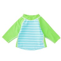 iplay アイプレイ スイムスーツ Classic Three Quarter Sleeve Rashguard Shirt 【 770103-638-42 】 (サイズ:6m カラー: Aqua...