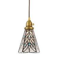 ART WORK STUDIO STAINED GLASS PENDANT LIGHT TEARS (白熱灯電球タイプ) AW-0374V